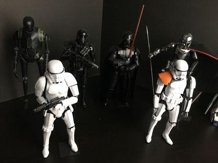 Star Wars Bandai figurines