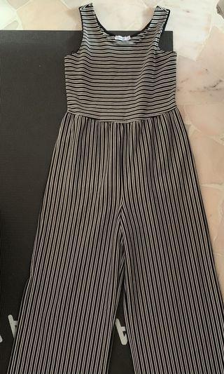 Valleygirl Striped Jumpsuit