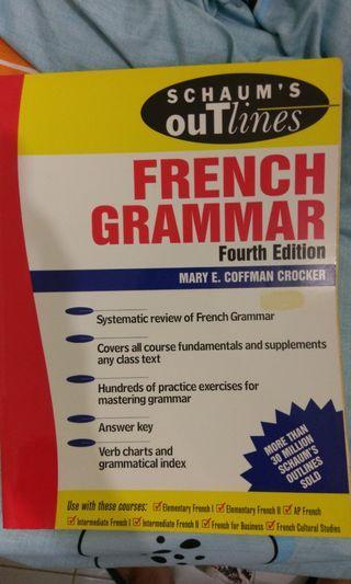 French Grammar Fourth Edition (Schaum's)