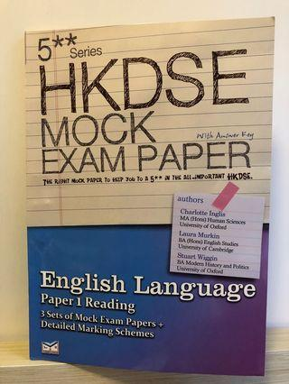 English Mock Paper Textbooks Carousell Hong Kong