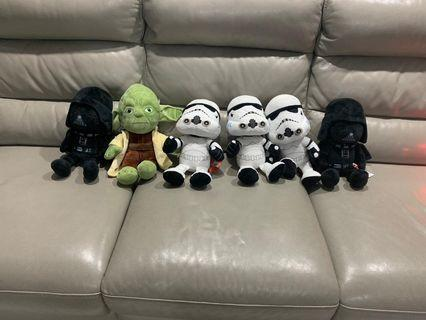 🚚 Authentic Star Wars Plushy Plushie Soft Toy