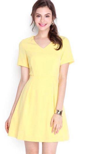 Lilypirates Dress in Sunshine Yellow