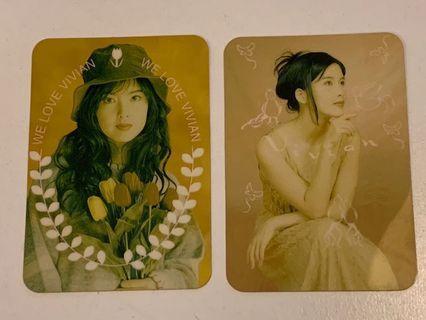 Yes card - Vivian 硬卡系列