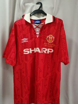 🚚 Manchester United 1993 Jersey