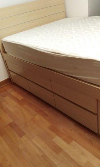 蘋果牌4 1/2床+ 床褥