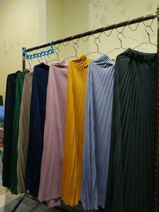 Rok skirt panjang