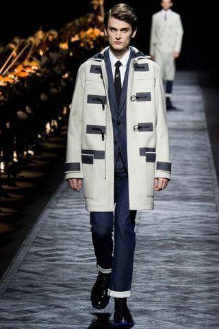 Dior homme 長版外套秀款
