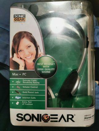 Sonicgear Headset