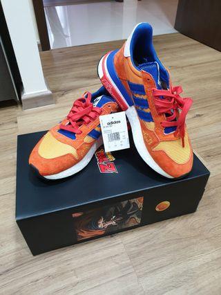 6046e010fd271 Adidas Dragon Ball Goku ZX500rm