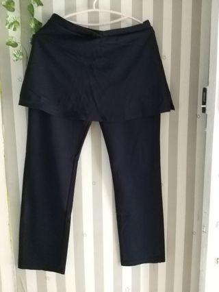 Celana senam jumbo uk XXl warna navy