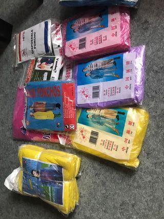 🚚 Disposable ponchos