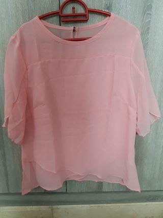 Blouse Pink Cotton