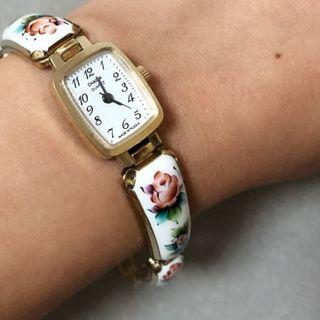 Chaika 俄羅斯19CM長 乾淨靚仔  行走正常  Vintage手鏈925銀白色 古董首飾錶