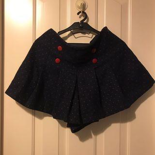 秋冬超短絨裙褲 Winter short skirt-pants