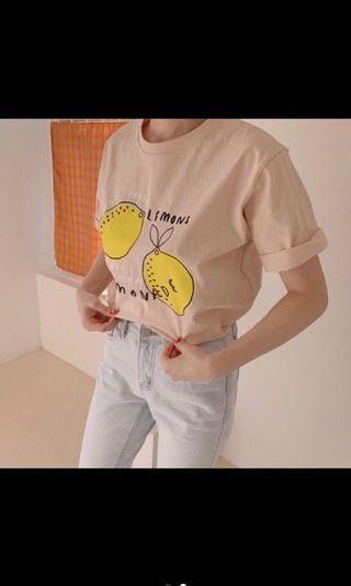🚚 檸檬短T