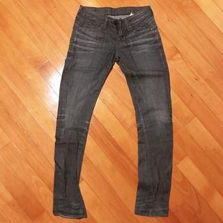 G star 貼身藍色牛仔褲