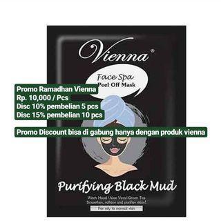 Masker Vienna purifying Black Mud
