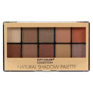 City Color Collection Natural Shadow Palette