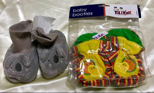 🚚 Brand new H&M & tollyjoy baby booties set