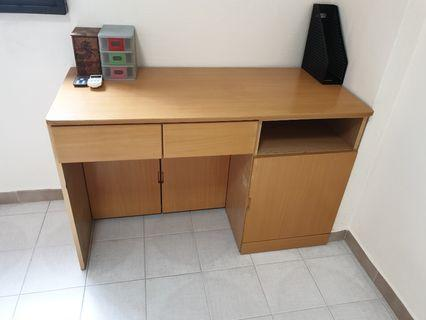 Wooden Study Table / Work Desk