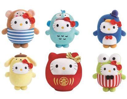 麥當勞 Sanrio Hello Kitty Buddy Day 全套