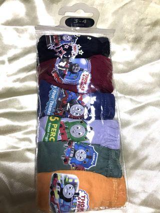 🚚 Brand new Thomas & friends boys cotton underwear