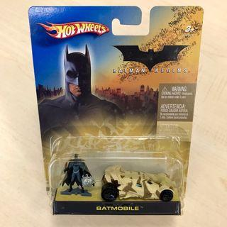 Hot Wheels Batmobile Batman Begins set