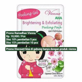 Vienna Peeling Gel, brightening & exfoliating peeling pack.