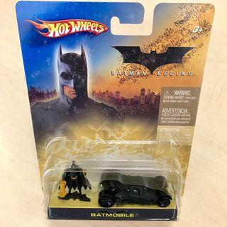 Hotwheels Batmobile Batman Begins set