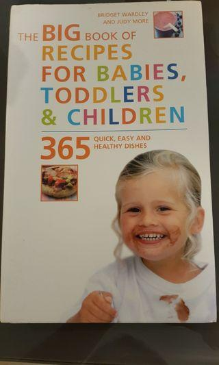 Big Recipes for Babies, toddlers & children