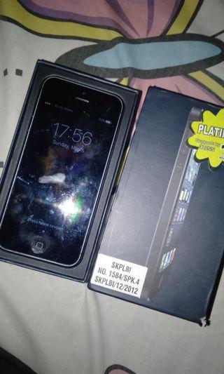 iPhone 5 32gb fullset