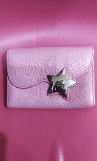 小b 粉紅色名片夾
