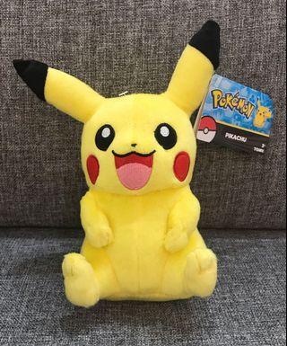 Pokémon pikachu happy mascot plushy Tomy USA