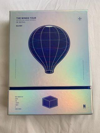 BTS Official WINGS TOUR DVD BLU-RAY
