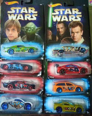 [Give Me Your Best Price] Hot wheels Star Wars whole set 1-8