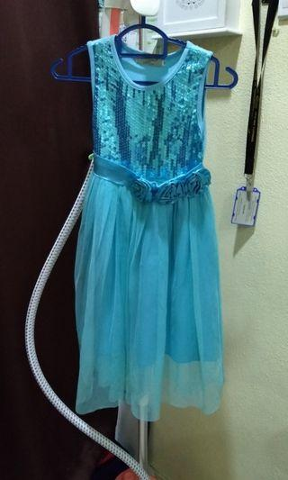 Blue kids dress