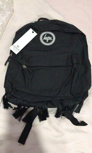 Tas punggung pria/wanita Hype Black Morrocan Tassle ORIGINAL U K.