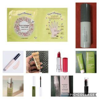 Any 3 for 500 - deluxe and full size branded cosmetics