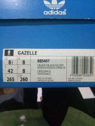 Adidas Gazelle Full Black Originals