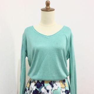 Sweater turquoise big size