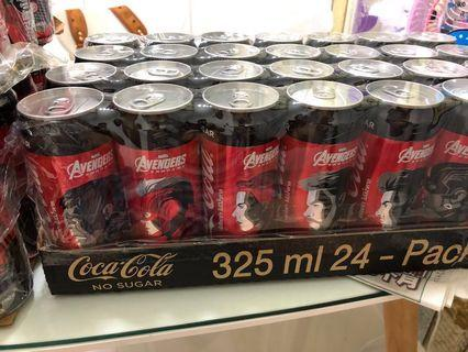 🔥Last 3 sets!!! Why iron Dies😭Marvel Avengers Endgame- Coke Zero Cans / Limited Edition Coke Zero set / Iron Man Cans