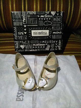 Sepatu Mini Melissa (Beauty and The Beast Limited Edition) Size 6