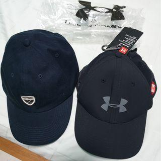 Under Armour & Nike Caps