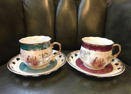 🚚 復古宮廷風下午茶杯組