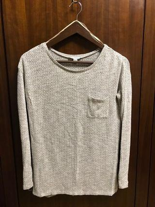 American eagle outfitters AEO knitwear top 麻色