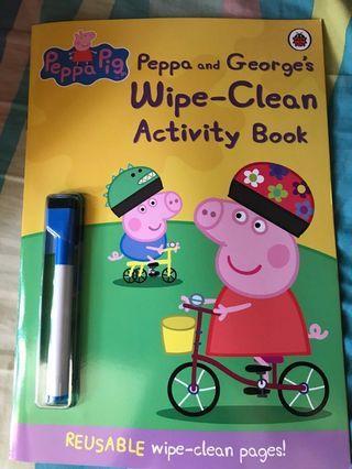 Peppa Pig 練習簿(可重複書寫)