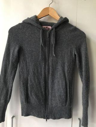 🚚 Juicy couture cashmere hoodie