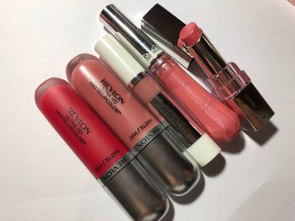 Revlon shiseido integrate Jill Stuart coffees d'or lipstick lip gloss 5pcs/aet