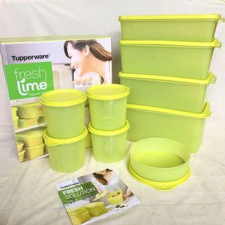 Freshlime free compact bowl (4) tupperware original
