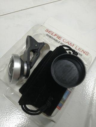 Wide angle selfie lens accessories